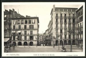 AK Pamplona, Calle de los Héroes de Estella