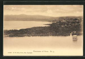 AK Fiji, Panorama of Suva