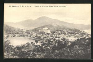 AK St. Thomas / Virgin Islands, Eastern Hill and Blue Beard`s Castle