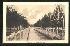 AK Sao Tome, Canal do rio Agua Grande