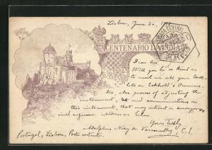AK Cintra, Castello da Pena, Centenario da India