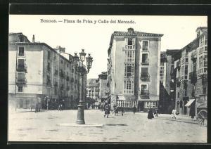AK Burgos, Plaza de Prim y Calle del Mercado