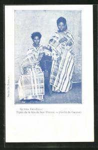 AK San Thomé / Guinea Espanola, Tipos de la Isla de San Thomé