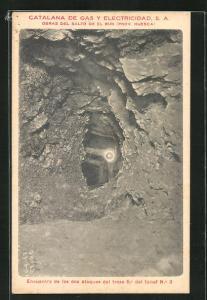 AK Huesca, Catalana de Gas y Electricidad, Tunel No. 3