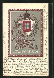 AK Portugal, Wappen des Königreiches Portugal