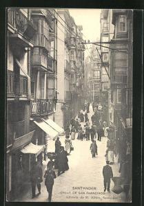 AK Santander, Calle de San Francisco