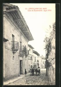 AK Santillana del Mar, Casa de Bustamante