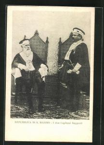 AK Repubblica di S. Marino, I due Capitani Reggenti