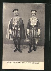 AK Repubblica di S. Marino, I Capitani Reggenti