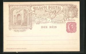 Lithographie Madeira, Egreja da Conceicao Velha 1489-1898