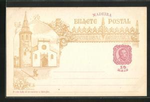 Lithographie Madeira, Kirche 1489-1898
