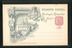 Lithographie Madeira, Paco Real de Cintra 1489-1898