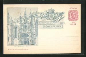 Lithographie Madeira, Porta lateral dos Jeronymos 1489-1898