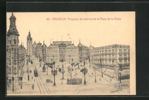 AK Valencia, Proyecto de reforma de la Plaza de la Reina