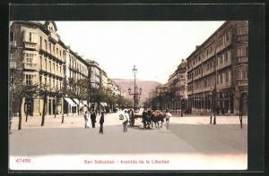 AK San Sebastian, Avenida de la Libertad