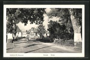 AK Burguete-Navarre, Entrada