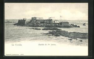 AK La Coruna, Castillo de Sn. Anton