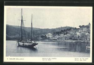 AK Soller-Mallorca, Detalle del Puerto