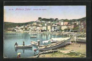 AK Mallorca-Soller, Detalle del Puerto