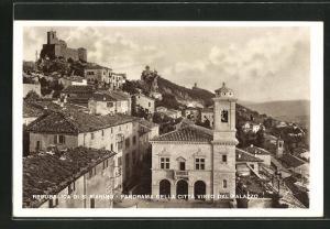 AK S. Marino, Panorama della Citta visto dal Palazzo