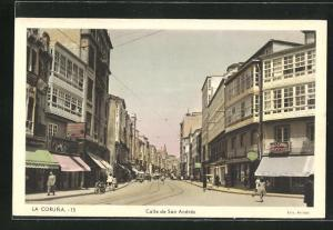 AK La Coruna, Calle de San Andrés