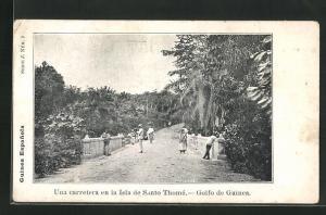 AK Santo Thomé, Una carreterra