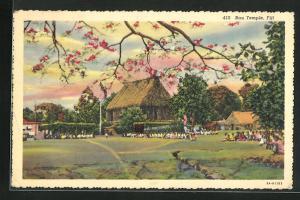 AK Fiji, Bau Temple