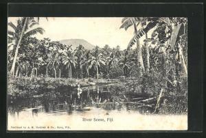 AK Fiji, River Scene