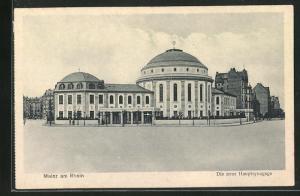AK Mainz am Rhein, Die neue Hauptsynagoge