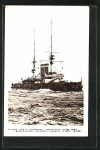AK H.M.S. Dominion, britisches Kriegsschiff