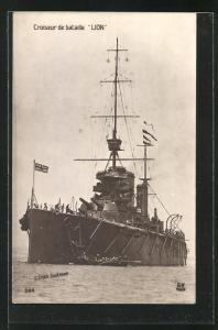 AK H.M.S. Lion, britisches Kriegsschiff