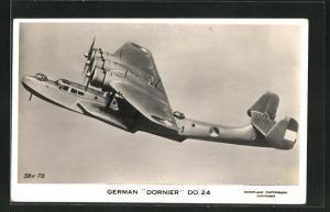 AK German Dornier Do. 26, Wasserflugzeug / Flugboot in der Luft