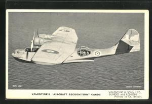 AK Dundee, Valentine & Sons Ltd., The Consolidated Catalina, British long range Flying Boat