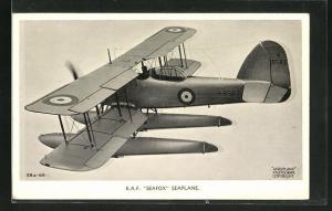 AK R. A. F. Seafox Seaplane