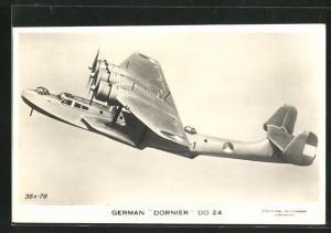 AK Wasserflugzeug German Dornier DO 24