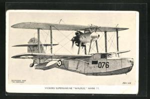 AK Wasserflugzeug Vickers Supermarine Walrus, Mark 11