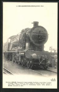AK Les Locomotives Francaises, Etat, Machine no 231-031
