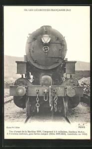 AK Les Locomotives Francaises, Est, Machine 6001