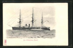 AK Duc d`Edimbourg, russisches Kriegsschiff