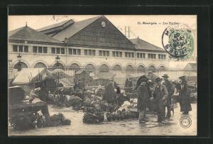 AK Bourges, Les Halles, Markthalle