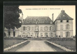 AK Epone, Chateau d`Epone XVIIe, Entree principale
