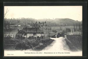 AK Senlisse-Garnes, Dependances de la Villa des Violettes