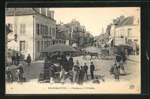 AK Romorantin, Faubourg d'Orleans