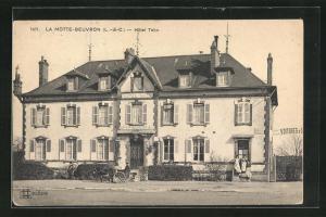 AK La Motte Beuron, Hotel Tatin