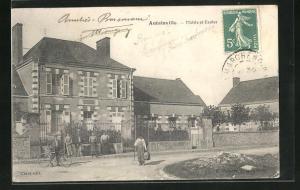 AK Autainville, Mairie et Ecoles