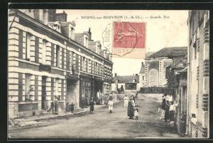 AK Neung-sur-Beuvron, Grande Rue
