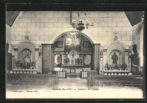 AK Veuves, Interieur de l'Eglise
