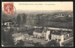 AK Montrieux-Naveil, Vue panoramique