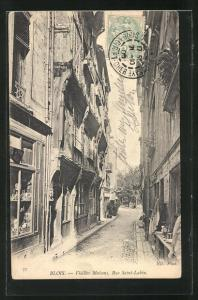 AK Blois, Vieille Maison - Rue Saint-Lubin