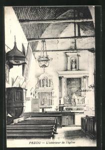 AK Pezou, L`Intérieur de l`Eglise